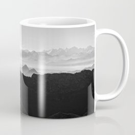 Mountains in the morning mist Coffee Mug