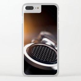 Headphone detail Clear iPhone Case