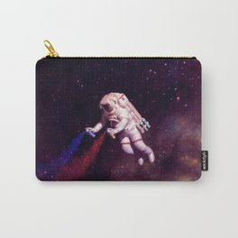 """Shooting Stars"" - Astronaut Artist Carry-All Pouch"