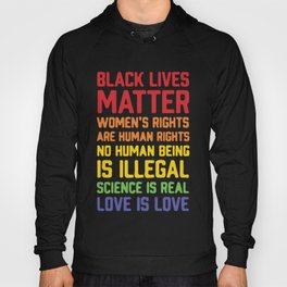 black lives matter-women is rights are human rights Hoody