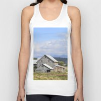 vermont Tank Tops featuring Vermont Barn by Ashley Callan