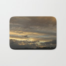 Golden Twilight Bath Mat