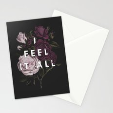 I Feel It All Stationery Cards