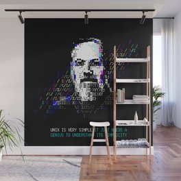 Dennis Ritchie - Tech Heroes series Wall Mural