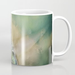Single Humming bird in flight Coffee Mug