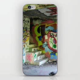 Abandoned Graffiti iPhone Skin
