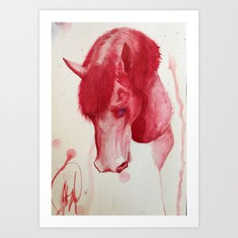 HorseVana Art Print