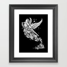 The Night Before the Battle Framed Art Print