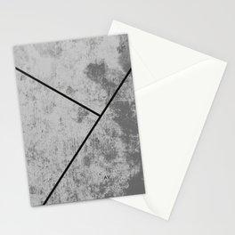Concrete Textura Stationery Cards