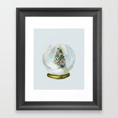 Snow Globe  Framed Art Print