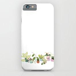 Variegated Hoya Family  iPhone Case