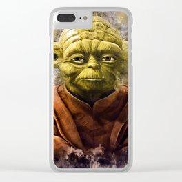 Yoda Clear iPhone Case