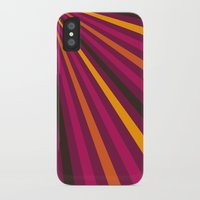1d iPhone & iPod Cases featuring Rays 1d by Patterns of Life