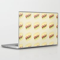 hamburger Laptop & iPad Skins featuring Hamburger by Berta Merlotte