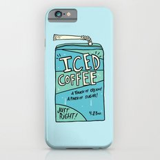 Iced Coffee Juicebox Slim Case iPhone 6