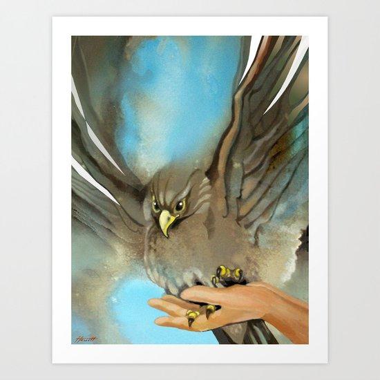 Eagle's Wings Art Print