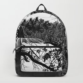 Nice Pair - Black and White Backpack