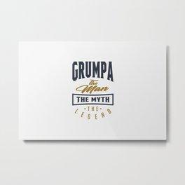 Gift for Grumpa Metal Print
