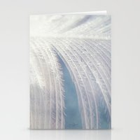 angel wings Stationery Cards featuring Angel Wings by Kimberley Britt