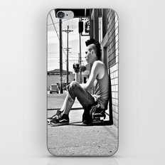 Tacoma skater iPhone & iPod Skin