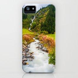 Pitztal, Austria iPhone Case