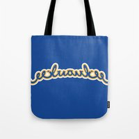 milwaukee Tote Bags featuring milwaukee test by spud muther