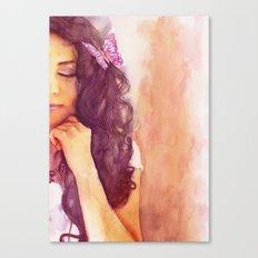 A part of me Canvas Print