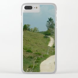 Road to Barton Creek Clear iPhone Case