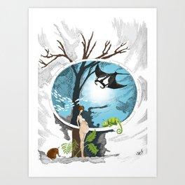 Evolve Art Print