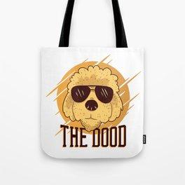 Cool Goldendoodle Dog Tote Bag