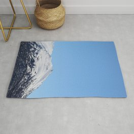 Blue Sky and Snowy Mountain Top 3 Rug