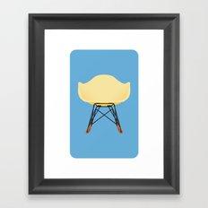Eames RAR Framed Art Print