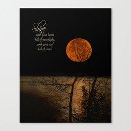 Shine! Canvas Print
