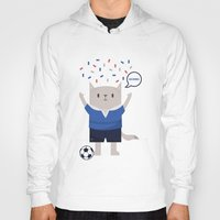 sports Hoodies featuring Sports Cat by The Cat