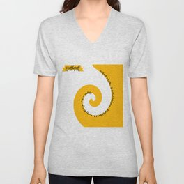 The Hufflepuff Unisex V-Neck