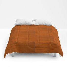 Wood Grain Pattern Comforters