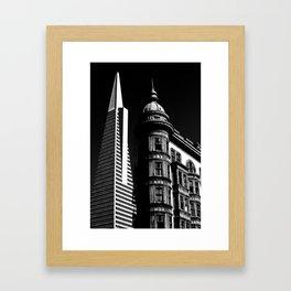 Trans America/Sentinel Framed Art Print