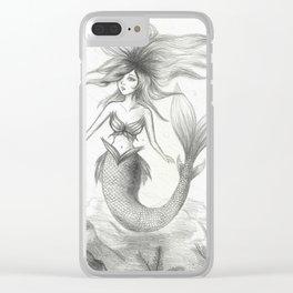 Mermaid 2 Clear iPhone Case