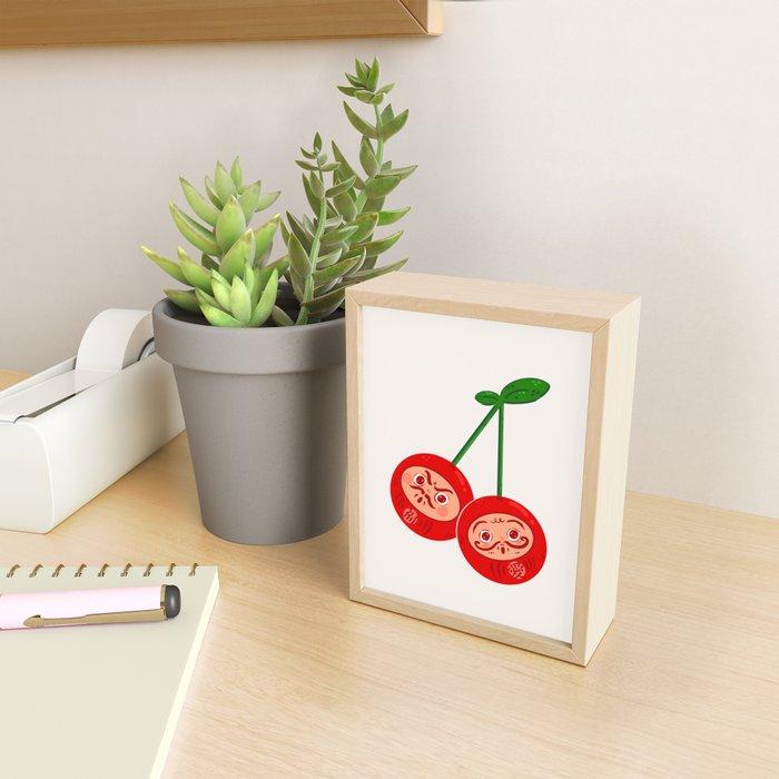 Darumanbo Framed Mini Art Print