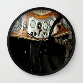 """1948 MG """"TC"""" Sports Car Dashboard Wall Clock"""