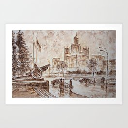 city high Art Print