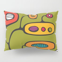 Broadcast in Full Color Pillow Sham