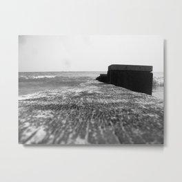 Tide Breaker Metal Print