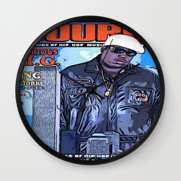The source cover number 70 The Notorious B.I.G. Wall Clock