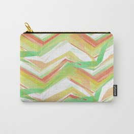 Summer Party Chevron Carry-All Pouch