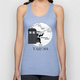 Vintage Doctor Who Ad - Companion Needed! Unisex Tank Top