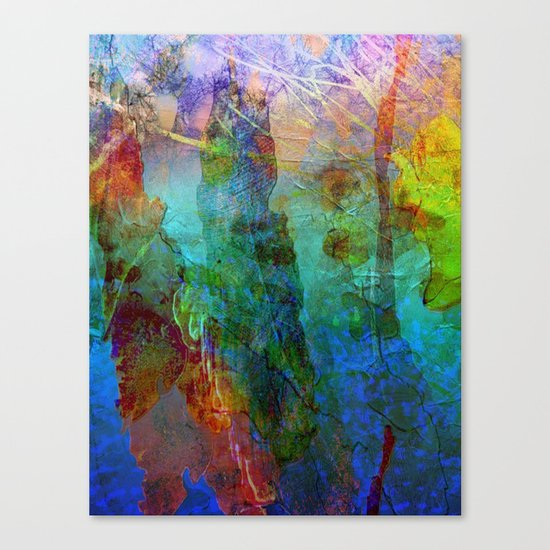 Abstract Texture 05 Canvas Print