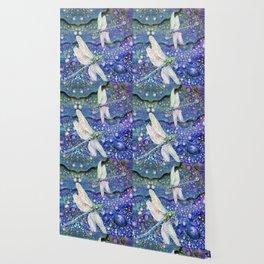 Dragonflies on Dragon's Tears Wallpaper