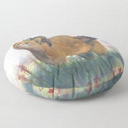 Bear Family Floor Pillow