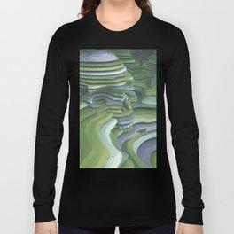 Slice of Life (Green) Long Sleeve T-shirt